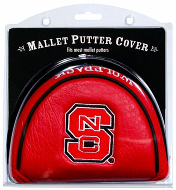 NC State Mallet Putter Cover