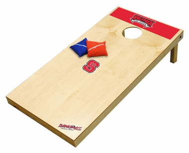 NC State Regulation Size (XL) Tailgate Toss Beanbag Game