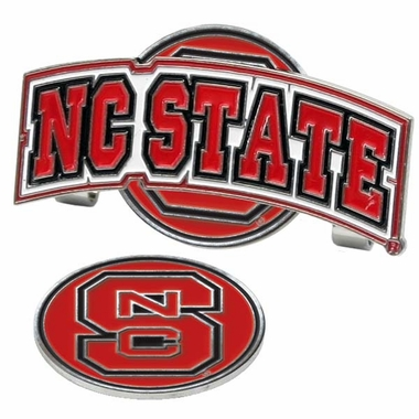 NC State Slider Clip With Ball Marker
