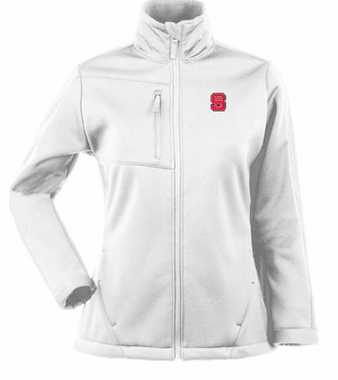 NC State Womens Traverse Jacket (Color: White)