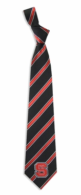 NC State Woven Poly 1 Necktie