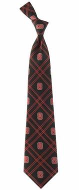 NC State Woven Poly 2 Necktie