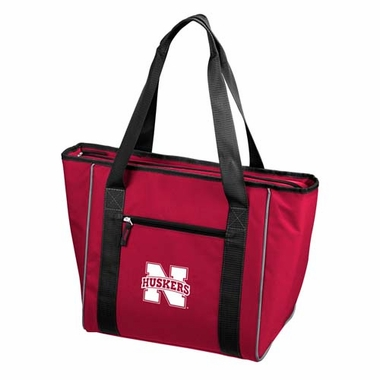 Nebraska 30 Can Tote Cooler