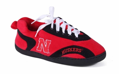 Nebraska Unisex All Around Slippers - Small