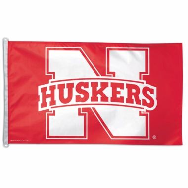 Nebraska Big 3x5 Flag