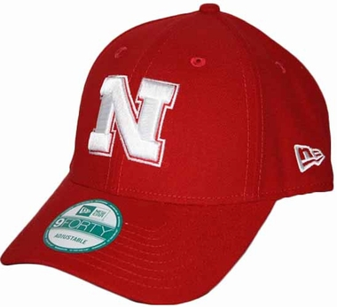 Nebraska Cornhuskers 9Forty The League Adjustable Hat