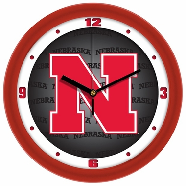 Nebraska Dimension Wall Clock