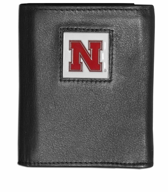 Nebraska Leather Trifold Wallet (F)