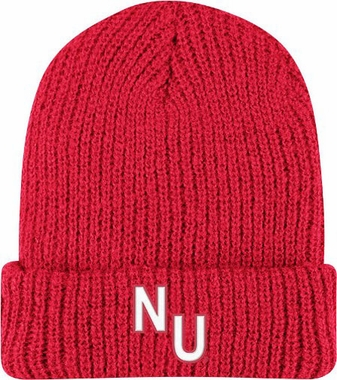 Nebraska Retro Yarn Cuffed Knit Hat
