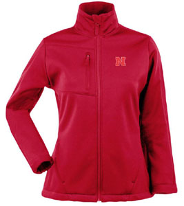 Nebraska Womens Traverse Jacket (Color: Red) - Small