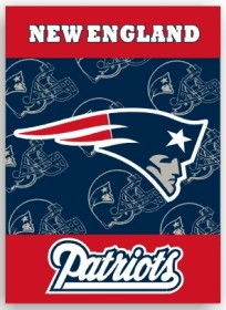 New England Patriots 2 Sided Banner (P)