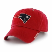 huge discount 2b9e6 041e1 New England Patriots 47 Brand NFL Clean Up Ice Adjustable Hat - Red