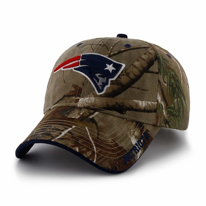 0c3b6ea4dd7 New England Patriots 47 Brand Realtree Frost Structured Adjustable Hat -  Camo