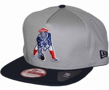 New England Patriots 9FIFTY Throwback A-Tone Snapback Hat