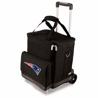 New England Patriots Cellar w/Trolley (Black)