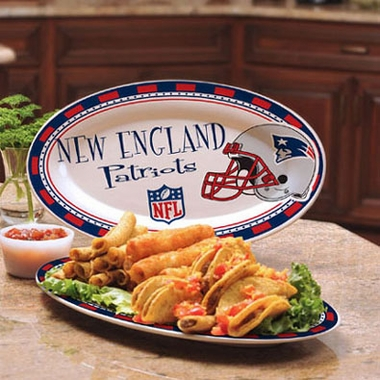 New England Patriots Ceramic Platter