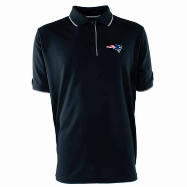 New England Patriots Mens Elite Polo Shirt (Color: Navy)