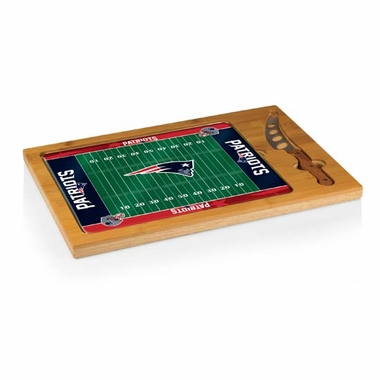 New England Patriots Icon 3 Piece Cheese Set