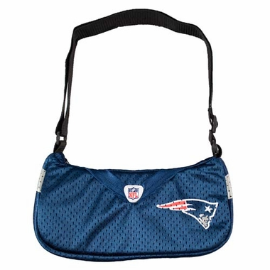 New England Patriots Jersey Material Purse