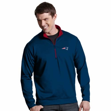 New England Patriots Mens Leader Pullover (Color: Navy)