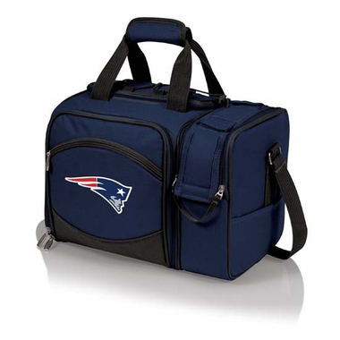 New England Patriots Malibu Picnic Cooler (Navy)