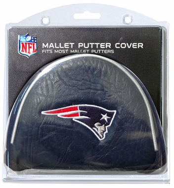 New England Patriots Mallet Putter Cover