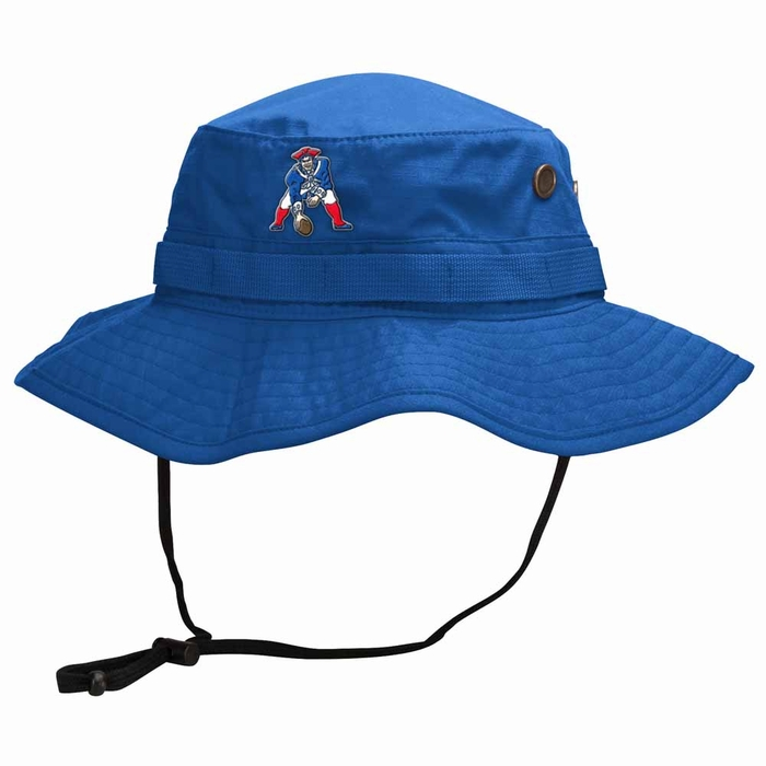 2c168e8ad95a3 New England Patriots Mitchell   Ness Boonie Bucket Hat