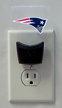 New England Patriots Set of 2 Nightlights