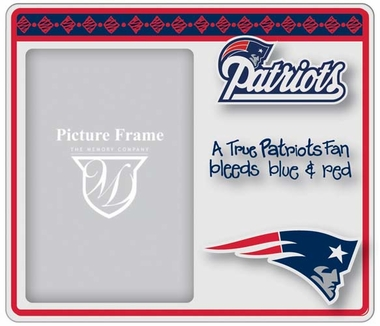 New England Patriots True Fan Picture Frame