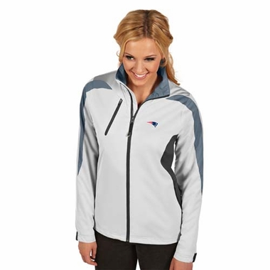 New England Patriots Womens Discover Jacket (Color: White)