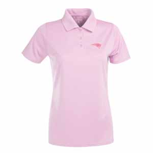 New England Patriots Womens Exceed Polo (Color: Pink) - Medium