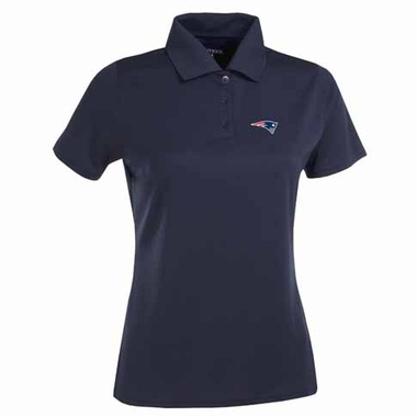New England Patriots Womens Exceed Polo (Color: Navy)