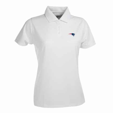 New England Patriots Womens Exceed Polo (Color: White)