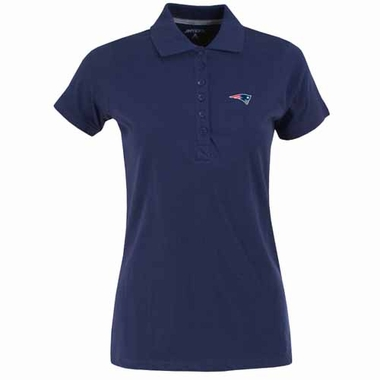 New England Patriots Womens Spark Polo (Color: Navy)