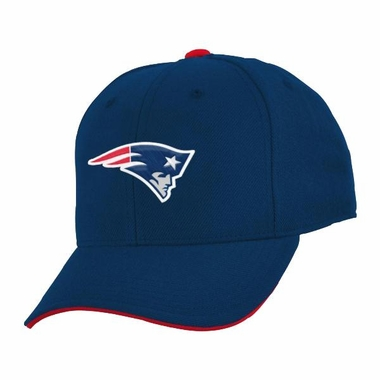 New England Patriots Youth Adjustable Slouch Hat