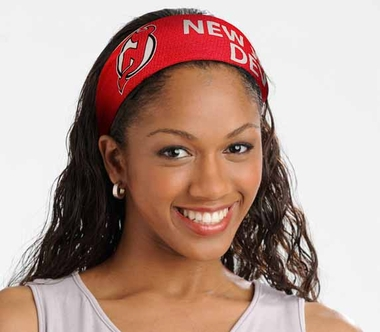 New Jersey Devils FanBand Hair Band