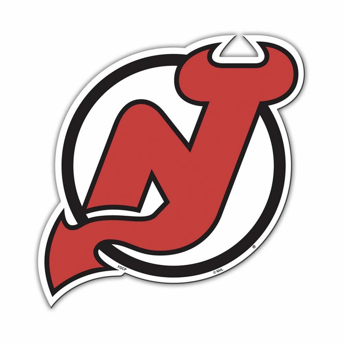 New Jersey Devils Individual Car Magnet F