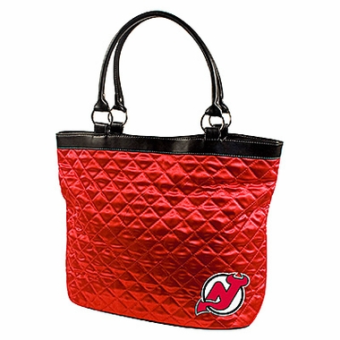 New Jersey Devils Quilted Tote