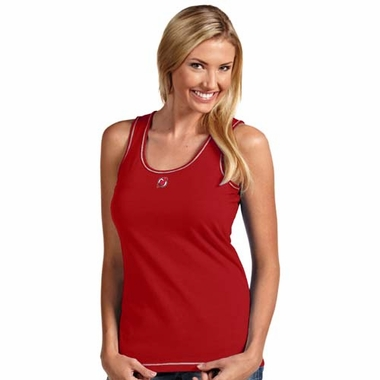 New Jersey Devils Womens Sport Tank Top (Color: Red)