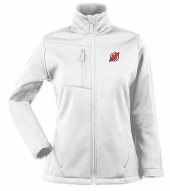 New Jersey Devils Womens Traverse Jacket (Color: White)