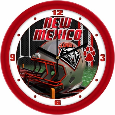 New Mexico Helmet Wall Clock
