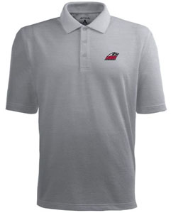 New Mexico Mens Pique Xtra Lite Polo Shirt (Color: Gray) - Medium