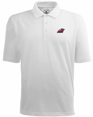 New Mexico Mens Pique Xtra Lite Polo Shirt (Color: White)
