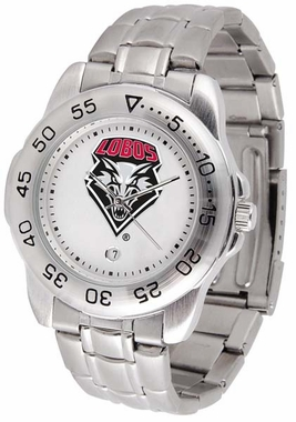 New Mexico Sport Men's Steel Band Watch