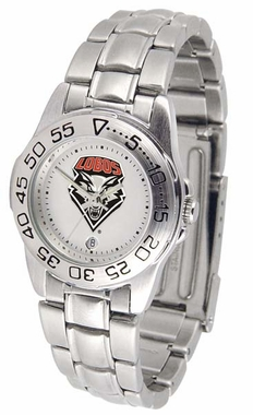 New Mexico Sport Women's Steel Band Watch