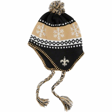 New Orleans Saints Abomination Tassel Knit Hat
