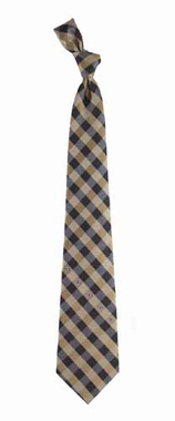 New Orleans Saints Check Poly Necktie