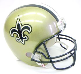 New Orleans Saints Pro Line Helmet
