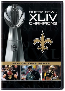 New Orleans Saints S.B. Champs Highlights DVD