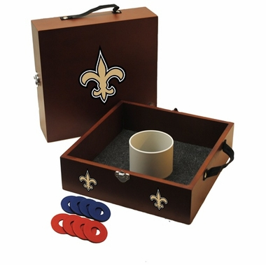 New Orleans Saints Washer Toss Game